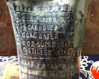 Black Beards Rum Pottery Jug
