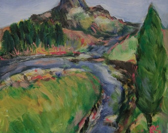 Mountain Stream - Original Painting