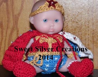Crochet Pattern - 5.5 inch Berenguer/Lots to love/Itsy Bitsy Baby - Wonder Baby