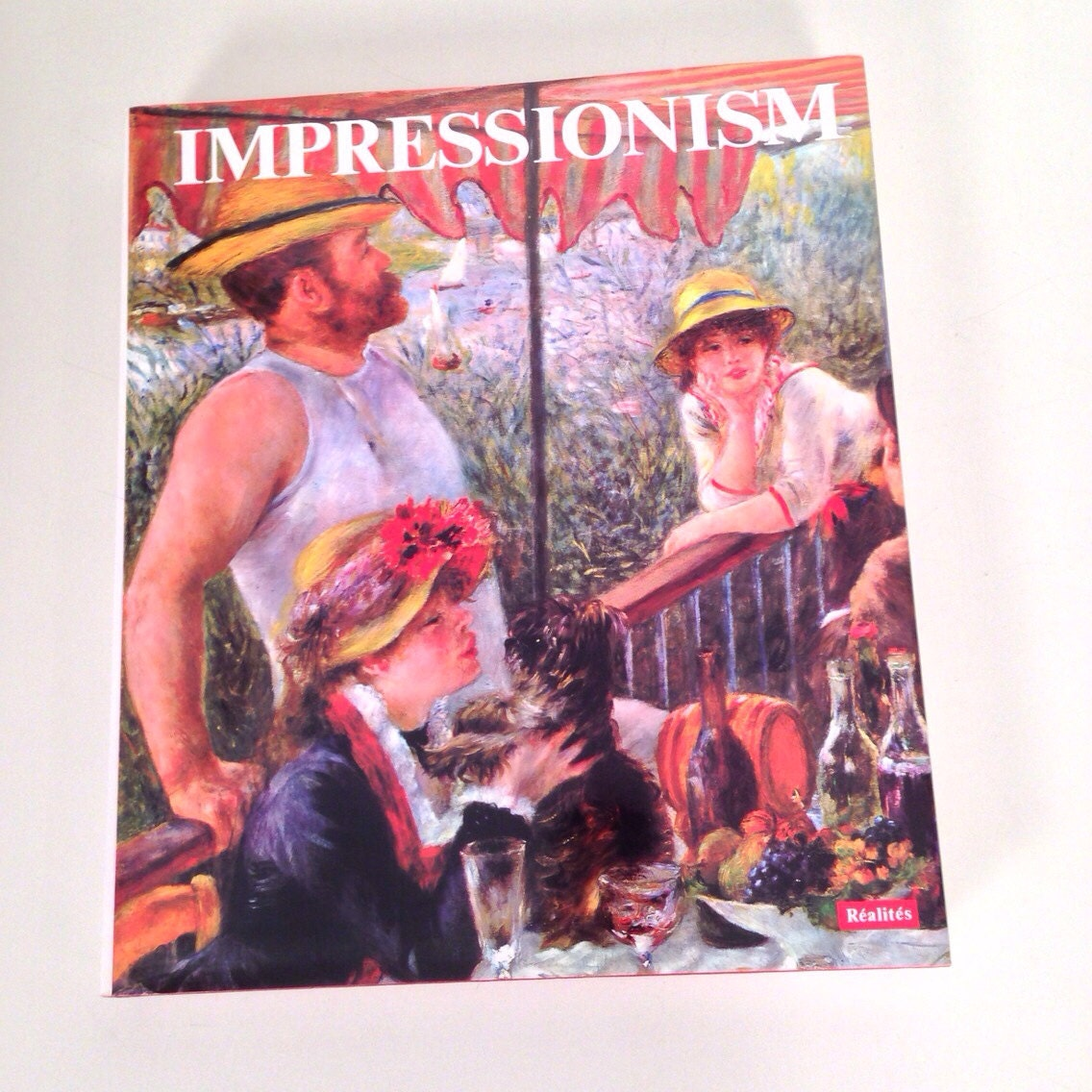 Vintage Impressionism Coffee Table Book Art History Book