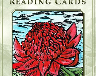 Australian Wildflower Reading Cards ~ personally signed