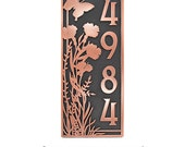 Garden Welcome Plaque or make an address plaque Custom for you 7.5x18 inches