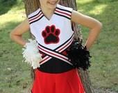 Oh Mickey Cheerleading Uniform PDF Sewing Pattern Sizes 1/2- 12