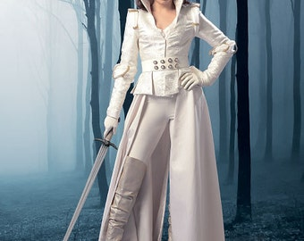 Once Upon a Time Pattern - Snow White Inspired - McCalls 6819 Sewing Pattern - Gothic -coat - top  -corset and belt -Sizes: 6-14  or 14-22