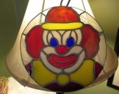 Stained Glass Clown