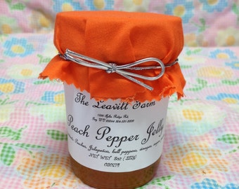 Peach Pepper Jelly