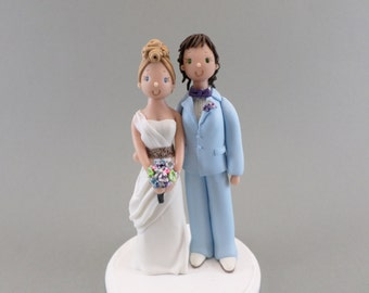 Personalized Same Sex Wedding Cake Topper