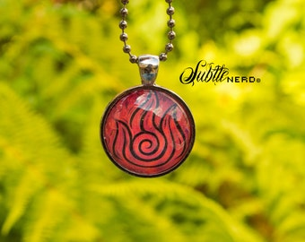 Fire Nation Necklace inspired by Avatar the Last Airbender