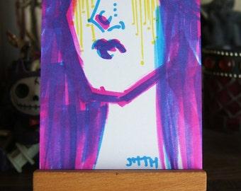 ART CARDS No 67 Gorey Girl