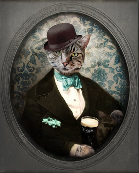 cat beer bottle animal - photo #42