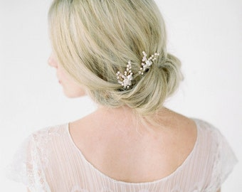 LAURA | bridal hair pieces, wedding hair pins, bridal hair pins