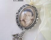 Angel Custom Photo Bouquet Charm