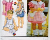 Simplicity 8948 Toddlers Dress Pattern New Uncut