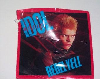 Vintage 1983 Billy Idol Vinyl Record