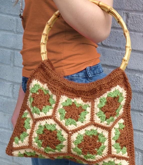 Hexagon Crochet Bag Pattern : All Bags & Purses