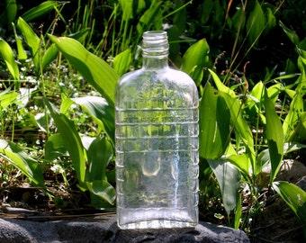 Owens-Illinois Glass Bottle DES PAT 92901 Art Deco Vintage 30s Collectable Decor