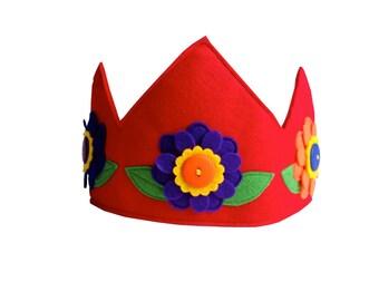 Flower Fairy Princess Crown