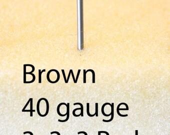 WizPick Felting Needle - Brown