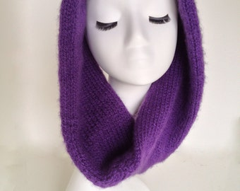 Knit Cowl / Made to Order / Knit / Wool Blend