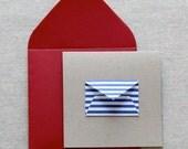 Tiny Envelope Gift Enclosure Cards - High Sea