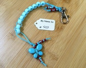 Aqua - Bitty Butterfly Series - Golf Stroke Counting Beads - MAXI by TallyGators™