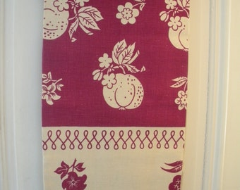 Mid Century Table cloth  new vintage