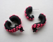 Rave Tentacle Earring Fake Gauge