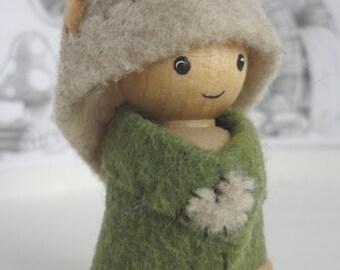 Nature Gnomes - Woodland folk, waldorf toy