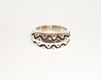 Viking ring, sterling silver, various sizes