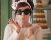 Macaron Bow Headband, Macaron Headband, Dolly Bow, Macaron Headband