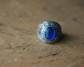 Art Deco high school class ring ∙ 1930s class ring