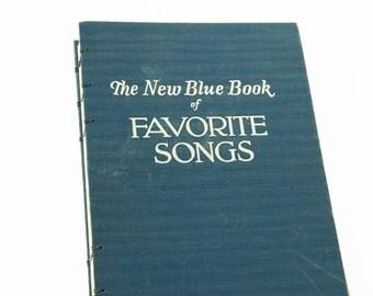 1941 FAVORITE SONGS Vintage Journal Notebook
