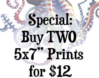 "Special Discount: Two 5x7"" prints"