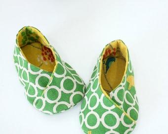 no 040 Michi Kimono-Style Baby Booties PDF Pattern