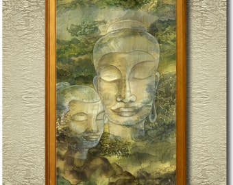 The Vision - Fine Art Print on heavy Cotton Canvas - unframed