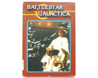 Battlestar Galactica, a Vintage Children's Book, TV and Movie Tie-Ins, 1979