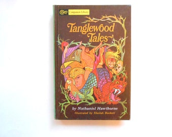 Tanglewood Tales, a Vintage Children's Book, Nathaniel Hawthorne, Companion Library