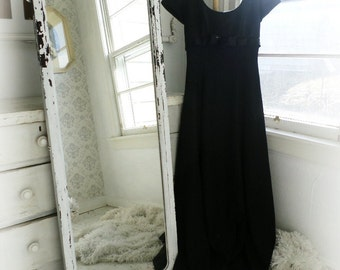 L O N G..   Shabby Chic Full Length Mirror Bedroom Dressing Leaner