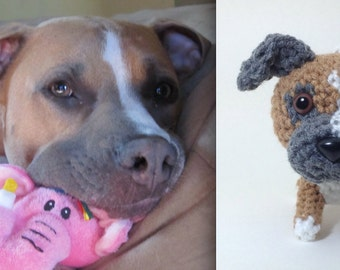 Custom Crochet Dogs Amigurumi Dog Puppy Stuffed Animal Plush Decor / Made to Order