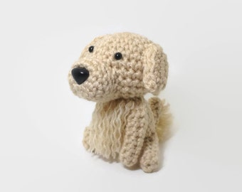 German Shorthaired Pointer Amigurumi stuffed dog crochet