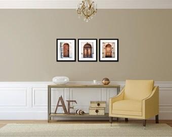Door Prints - Wall Decor - Denmark Photography - Shakespeare's Hamlet - Door Photos - Brown and Cream - Neutral Wall Art - Photographs