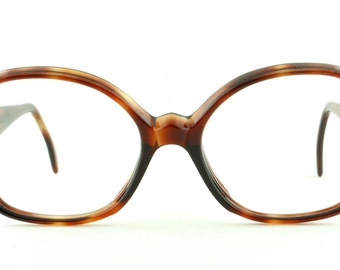 Vintage Deadstock 60's Graceline Giradelli Eyeglass Frames Tortoiseshell With Sleeve - FREE Domestic Shipping