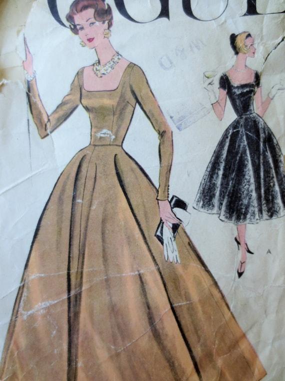 Vintage Vogue Dress Patterns 44