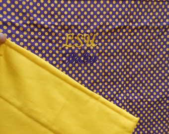 LSU Quilted Baby Blanket