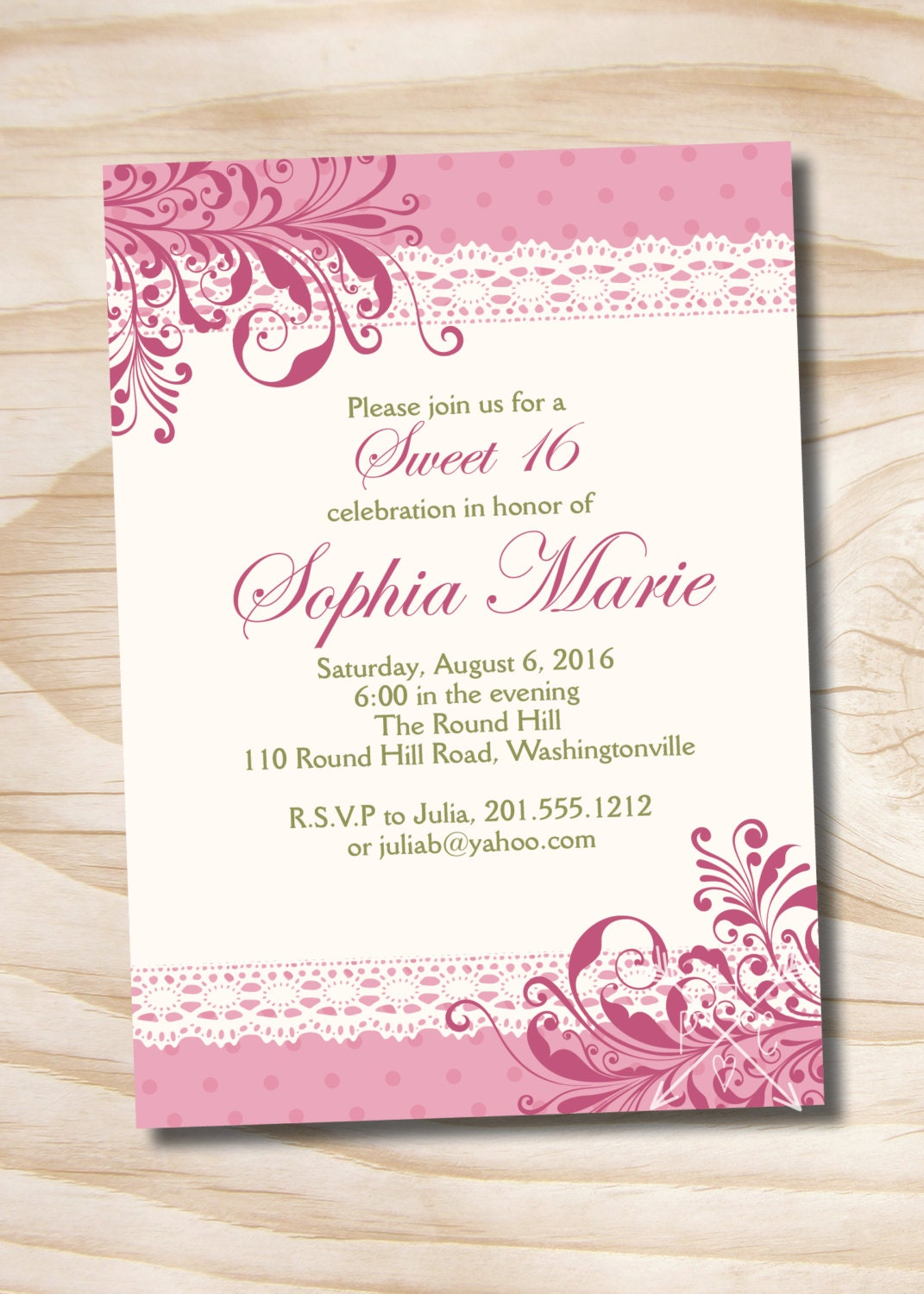 Crazy image for printable quinceanera invitations