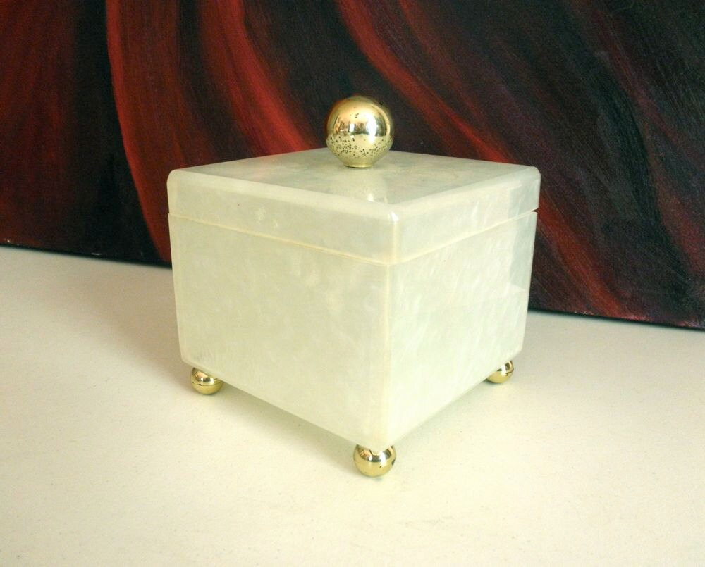 Lucite box Etsy