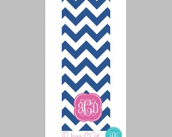 Monogrammed Yoga Mat- Personalized Yoga Mat- Many Colors and Patterns to choose from