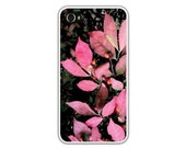 Red Spicebush & Berry iPhone Case, Maine Woods, Autumn Foliage,/Christmas/Winter/ Nature, Ring In A Cheery Nature Print, FREE SHIPPING Usa