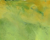 Original landscape painting semi-abstract - Summer meadow