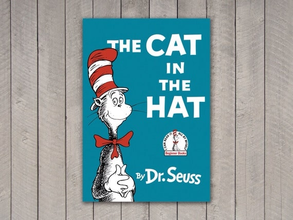 Dr Seuss Book Cover Printables ~ Dr seuss book cover set by ampersandcreations on etsy